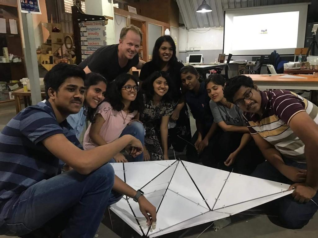 Pop Arc Futuristic Design Workshop by SCI Arc 2019, Master Curime Batliner and His Students