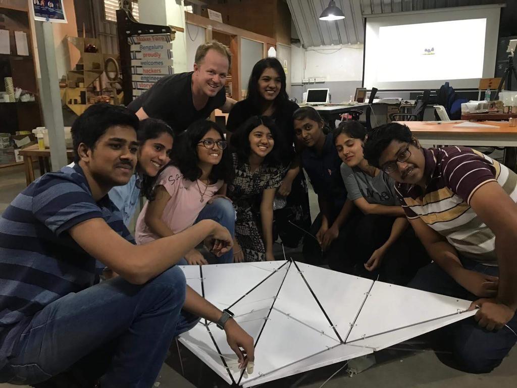Pop Arc Futuristic Design Workshop by SCI Arc 2019, Master Curime Batliner and His Students