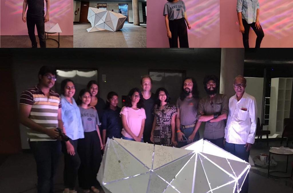 Creating Futuristic Architecture with Master Curime – POP Arc Bengaluru 2019 – High School Workshop