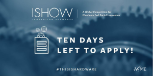 ISHOW 2020 applications close February 20!